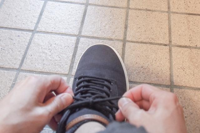 踏ん張れる靴