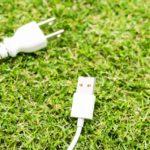 USBポートは2つでコンパクト&ムダなし!