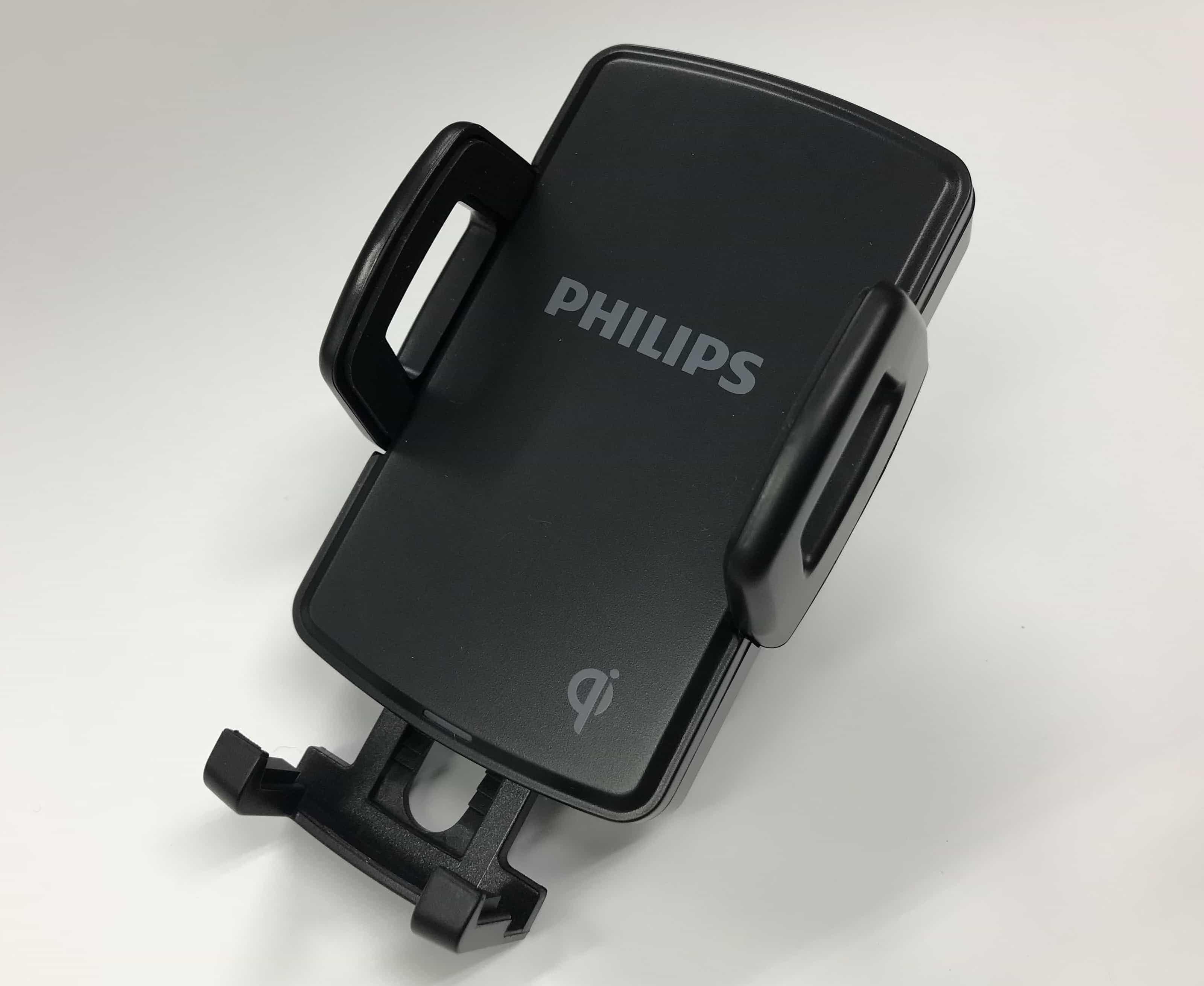 フィリップス 大容量 超薄型 ワイヤレス充電カーマウント DLP9062