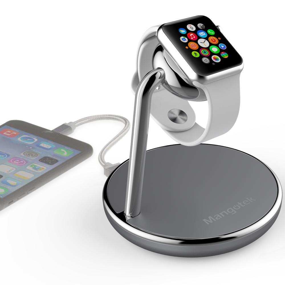 アップルウォッチ 充電 スタンド USBポート 搭載 Mangotek