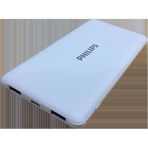 フィリップス 10000mAh 大容量 超薄型 モバイルバッテリー 2ポート DLP6712N