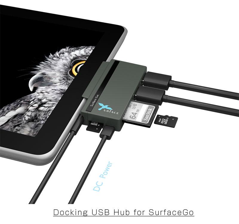 イミディアのSurface Go USBハブ